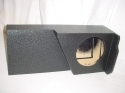 2014 up Chevy Double Cab Single Poly Sub woofer Box Sub Box 1X10