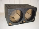 2 15'' Double Ported Subwoofer Box Sub box