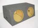 Dual 12'' or 10'' Slanted Sub Box