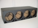 4x12'' Ported Poly Sub Box