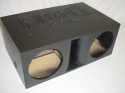 Horn Ported 2-12'' Super Bass Pro-Poly Subwoofer Box Sub Box